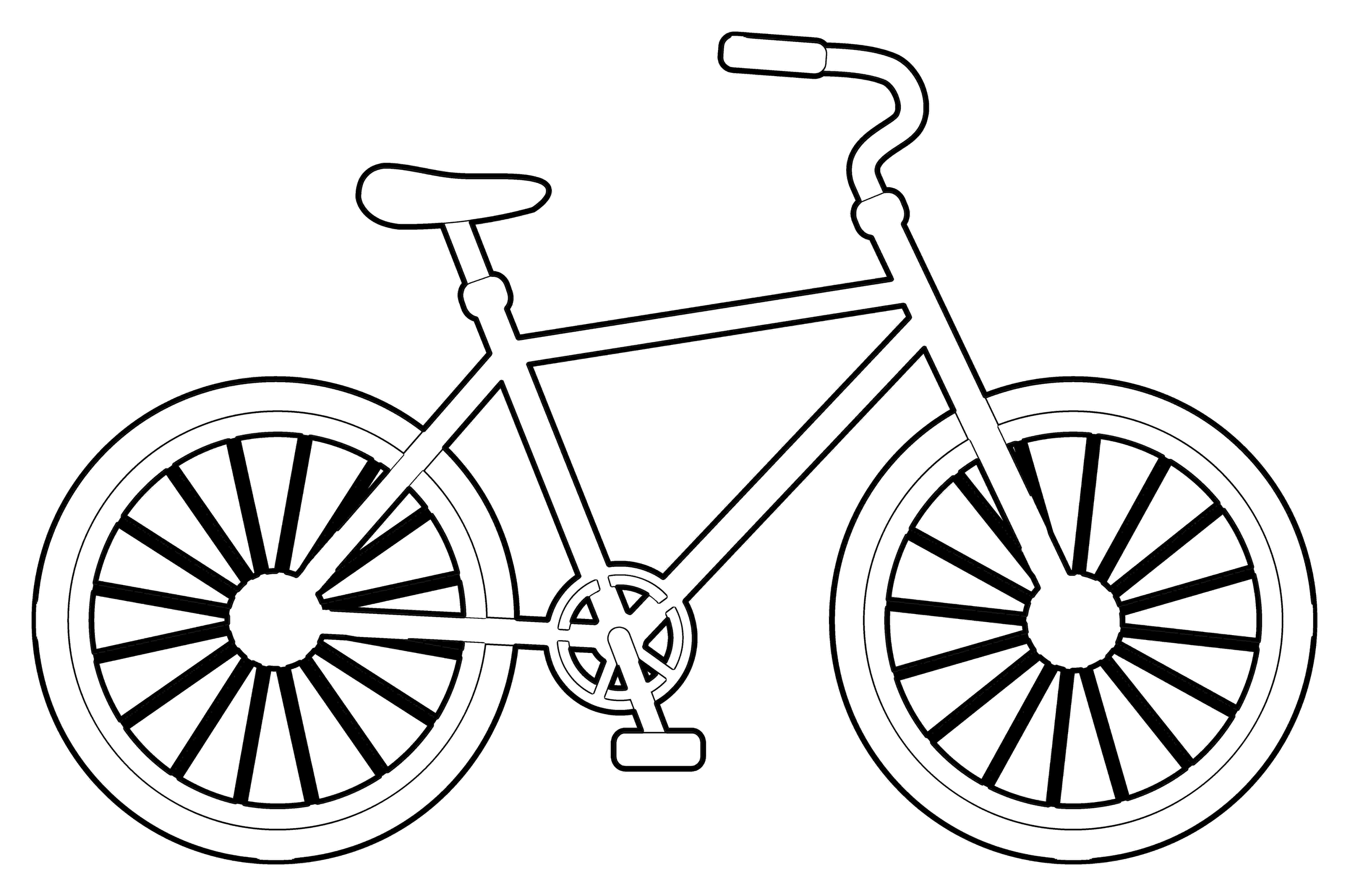 bmx bike coloring pages bike coloring page getcoloringpagescom pages bike bmx coloring