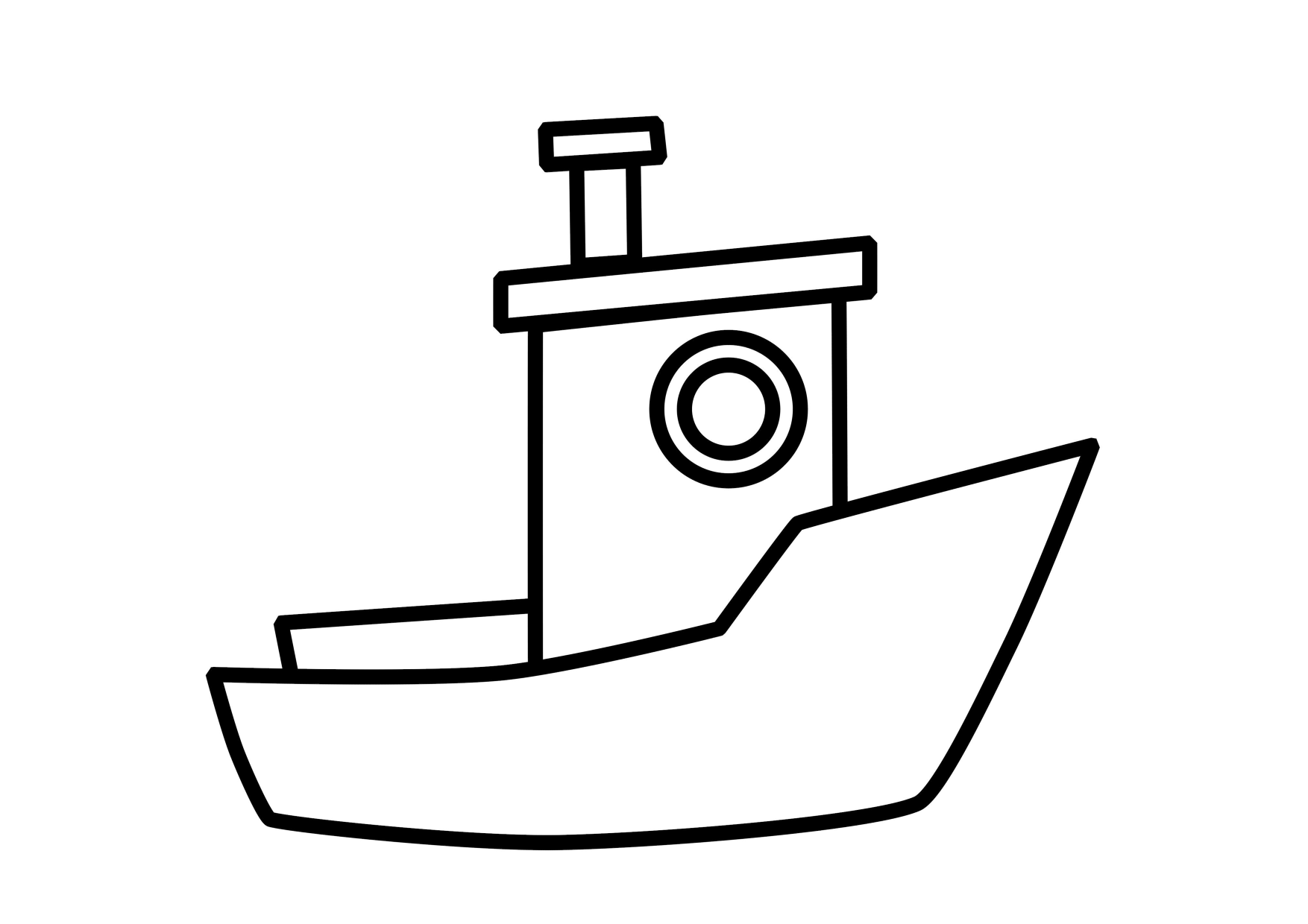 boat coloring page easy boat coloring coloring pages boat page coloring