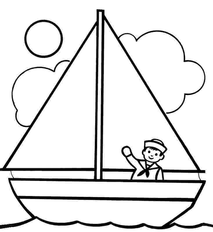 boat coloring page printable boat coloring pages for kids cool2bkids coloring boat page