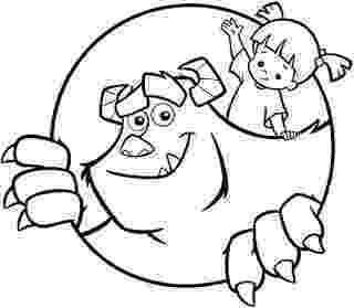 boo monsters inc coloring pages monsters inc coloring pages minister coloring pages monsters inc coloring boo