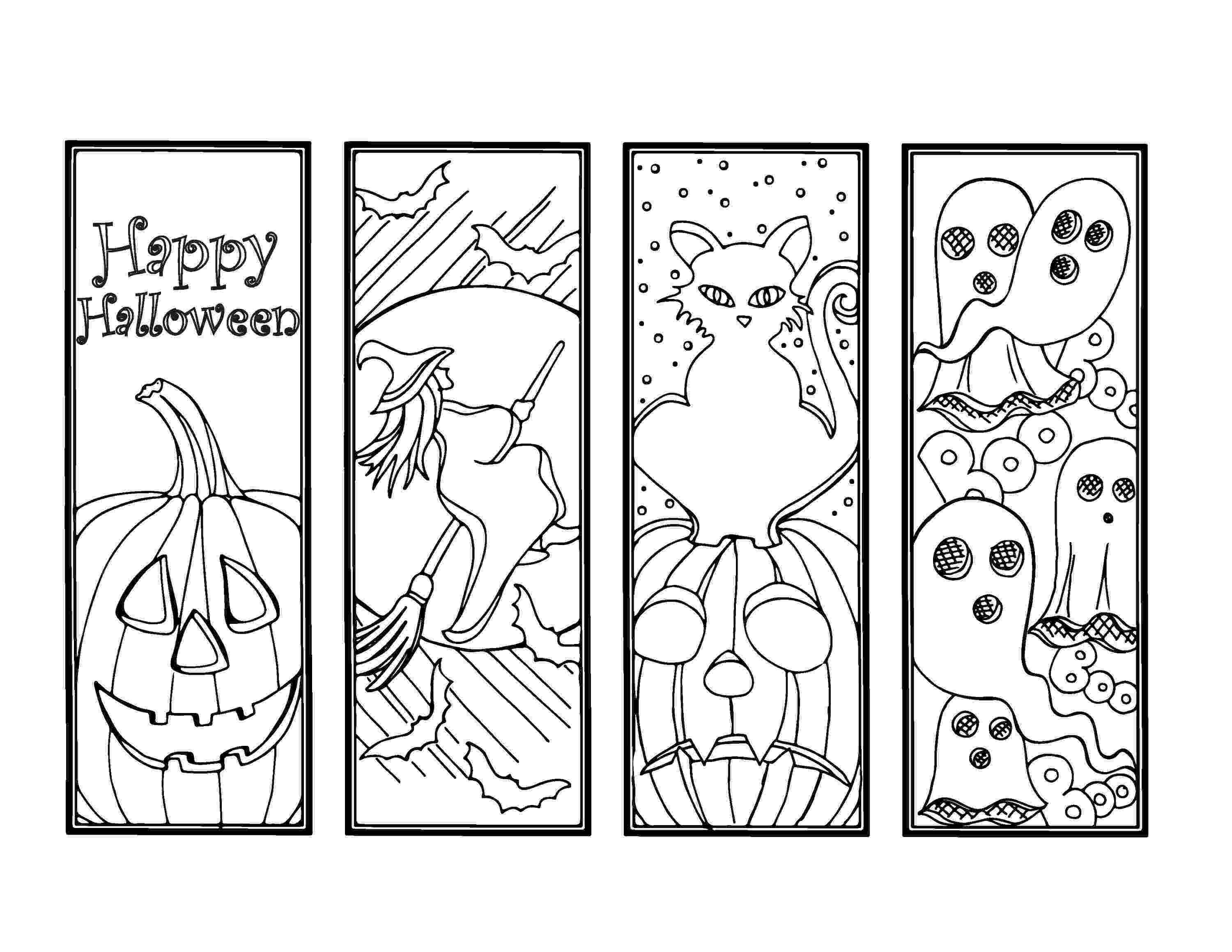 bookmarks coloring sheets diy halloween bookmarks holiday crafts color your own etsy bookmarks coloring sheets