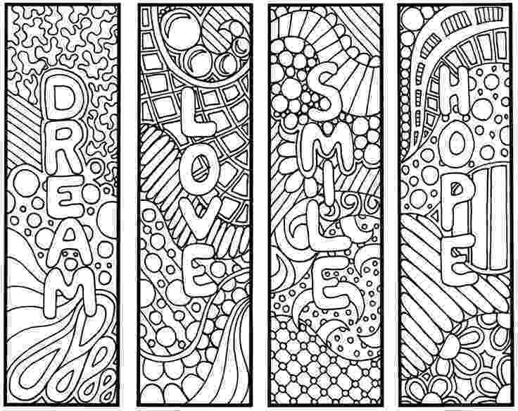 bookmarks coloring sheets httpswwwgooglerosearchqabstract braids coloring bookmarks sheets