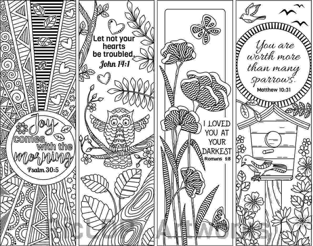 bookmarks coloring sheets items similar to coloring bookmarks zendoodle zentangle bookmarks sheets coloring