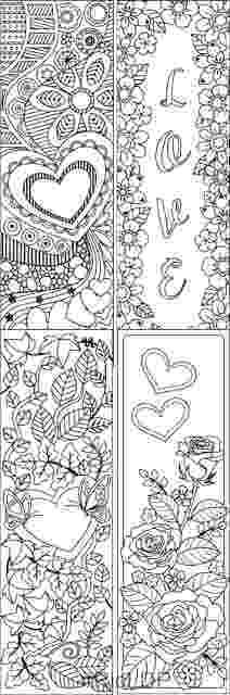 bookmarks coloring sheets ricldp artworks 8 valentines coloring bookmarks sheets bookmarks coloring