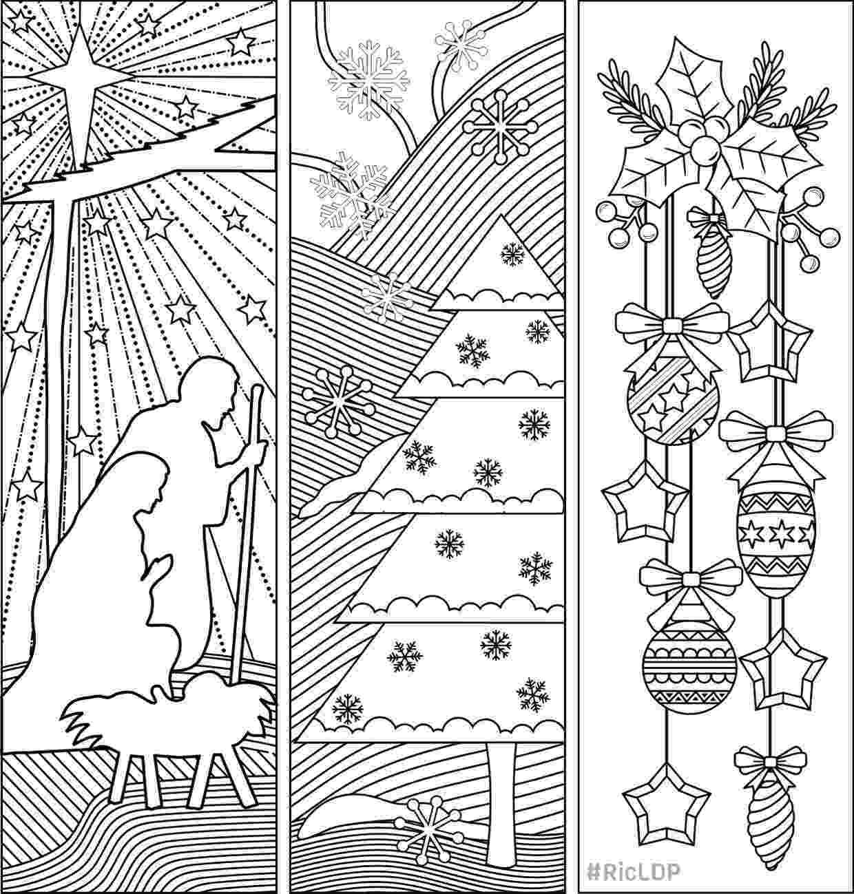 bookmarks coloring sheets three christmas coloring bookmarks bookmarks christmas bookmarks sheets coloring