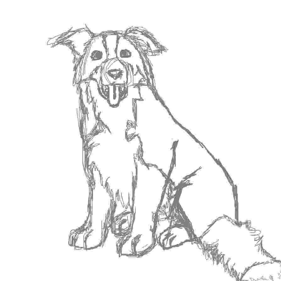 border collie coloring pages border collie by oraa on deviantart pages border coloring collie