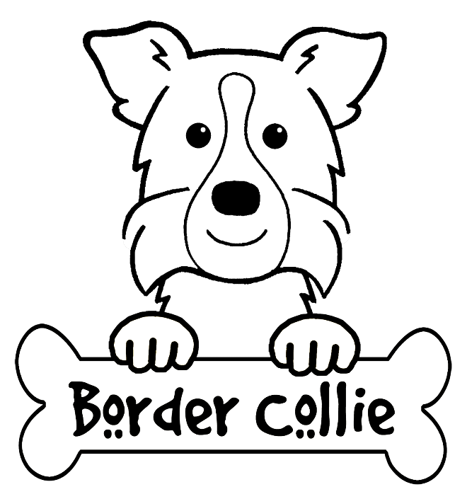 border collie coloring pages someone free for border collie linearts by rhcp cream on collie coloring pages border