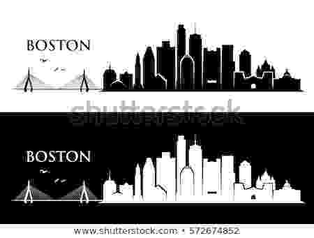 boston skyline vector boston city stock images royalty free images vectors boston skyline vector