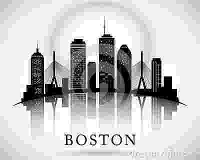 boston skyline vector boston skyline city silhouette stock vector image 65135277 skyline vector boston