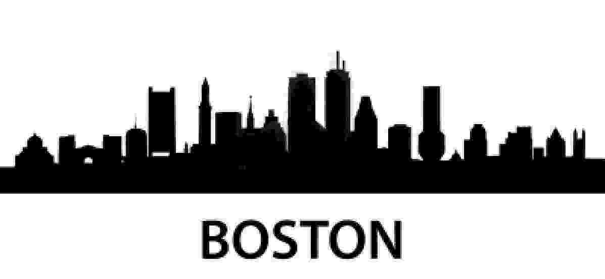 boston skyline vector boston skyline silhouette free vector silhouettes skyline vector boston