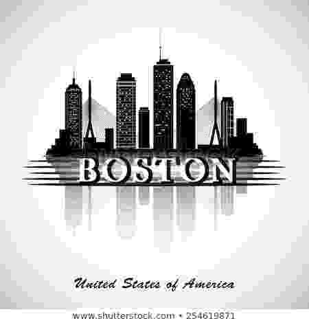 boston skyline vector boston skyline stock images royalty free images vectors vector boston skyline