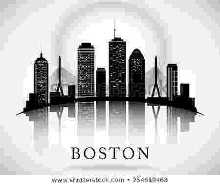 boston skyline vector boston stock photos images pictures shutterstock boston vector skyline