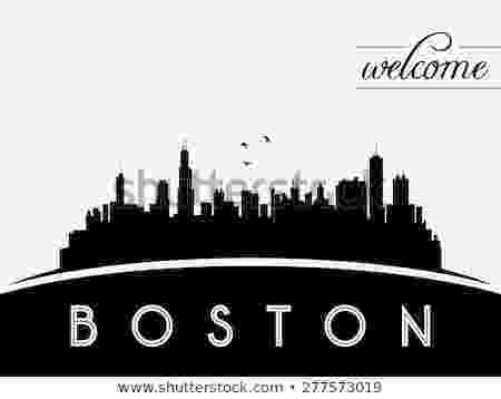 boston skyline vector boston usa skyline silhouette black and white design boston skyline vector