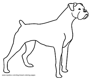 boxer puppy coloring pages dog breed coloring pages hubpages pages boxer coloring puppy
