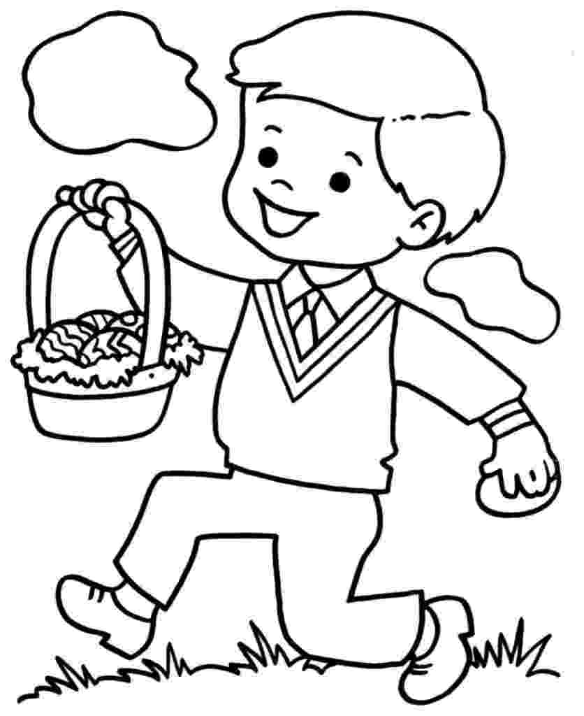 boy coloring pages free printable boy coloring pages for kids coloring boy pages 1 1