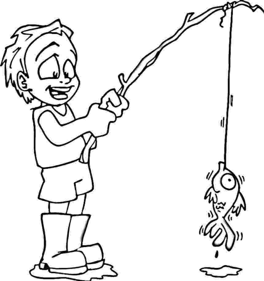 boy coloring pages free printable boy coloring pages for kids cool2bkids pages boy coloring 1 1