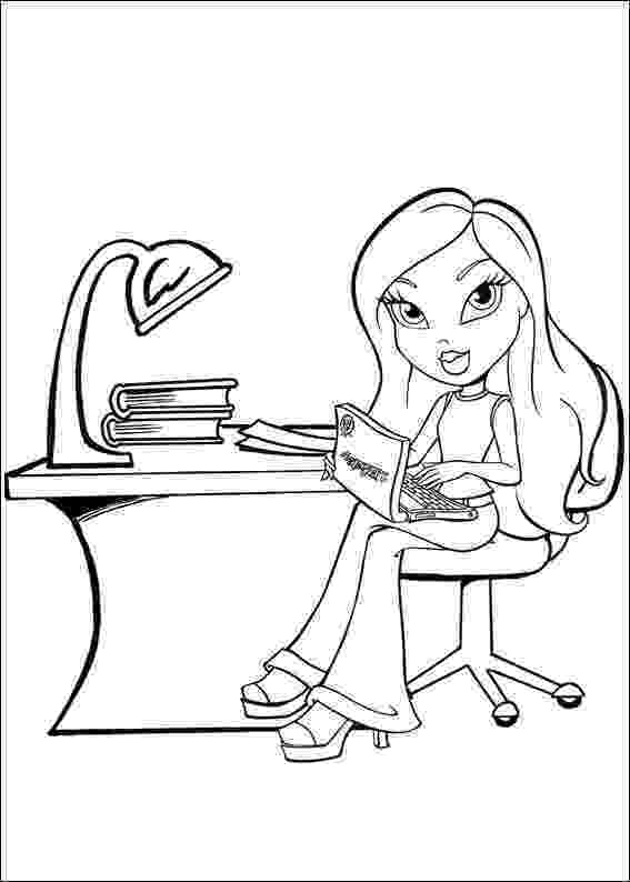 bratz coloring pages bratz coloring pages bratz coloring pages