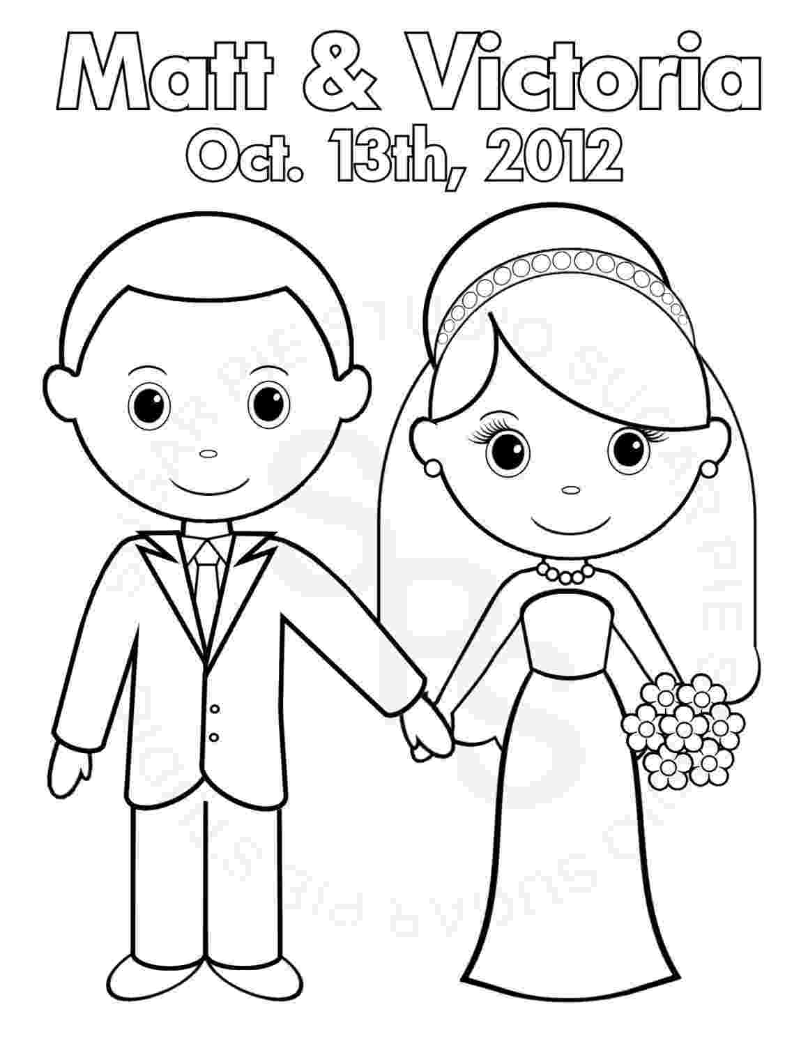 bride and groom coloring page wedding coloring pages bride and groom bride coloring groom page and