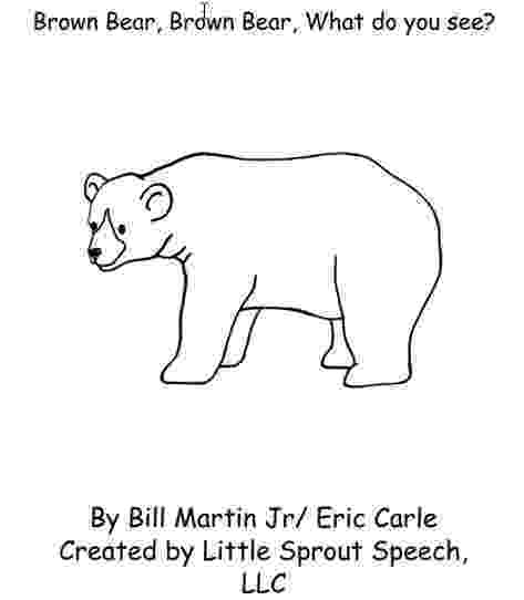 brown bear what do you see coloring pages book club week 12 brown bear brown bear what do you see pages brown you what coloring bear do see
