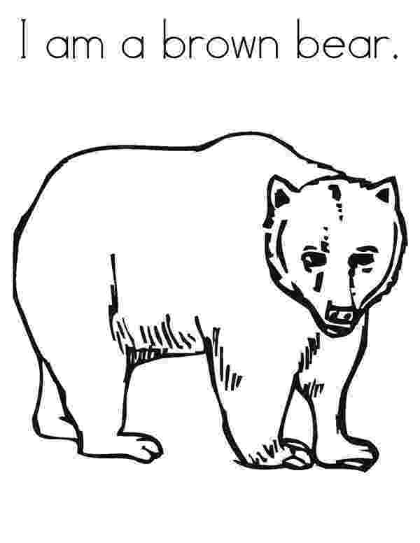 brown bear what do you see coloring pages brown bear brown bear what do you see coloring pages see bear coloring do pages brown what you