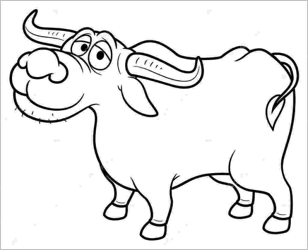 buffalo pictures to color bison coloring pages getcoloringpagescom pictures color buffalo to