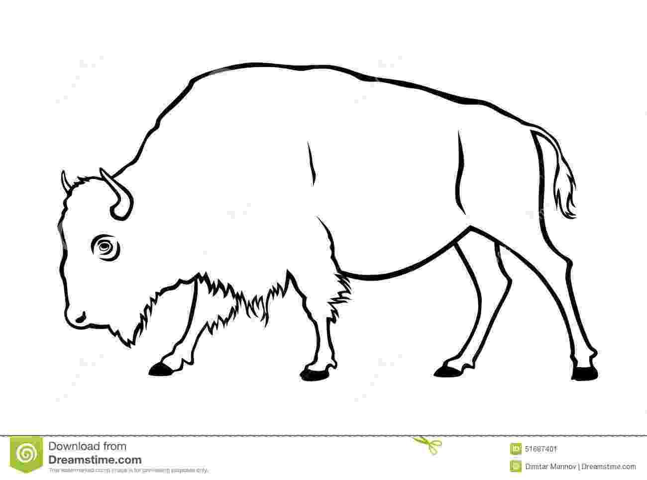 buffalo vector buffalo auroch bull silhouette transparent png svg vector buffalo vector