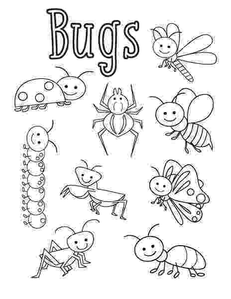 bug coloring page bugs coloring pages funnycrafts page bug coloring