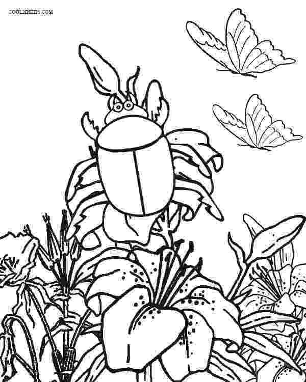 bug coloring page printable bug coloring pages for kids cool2bkids page coloring bug