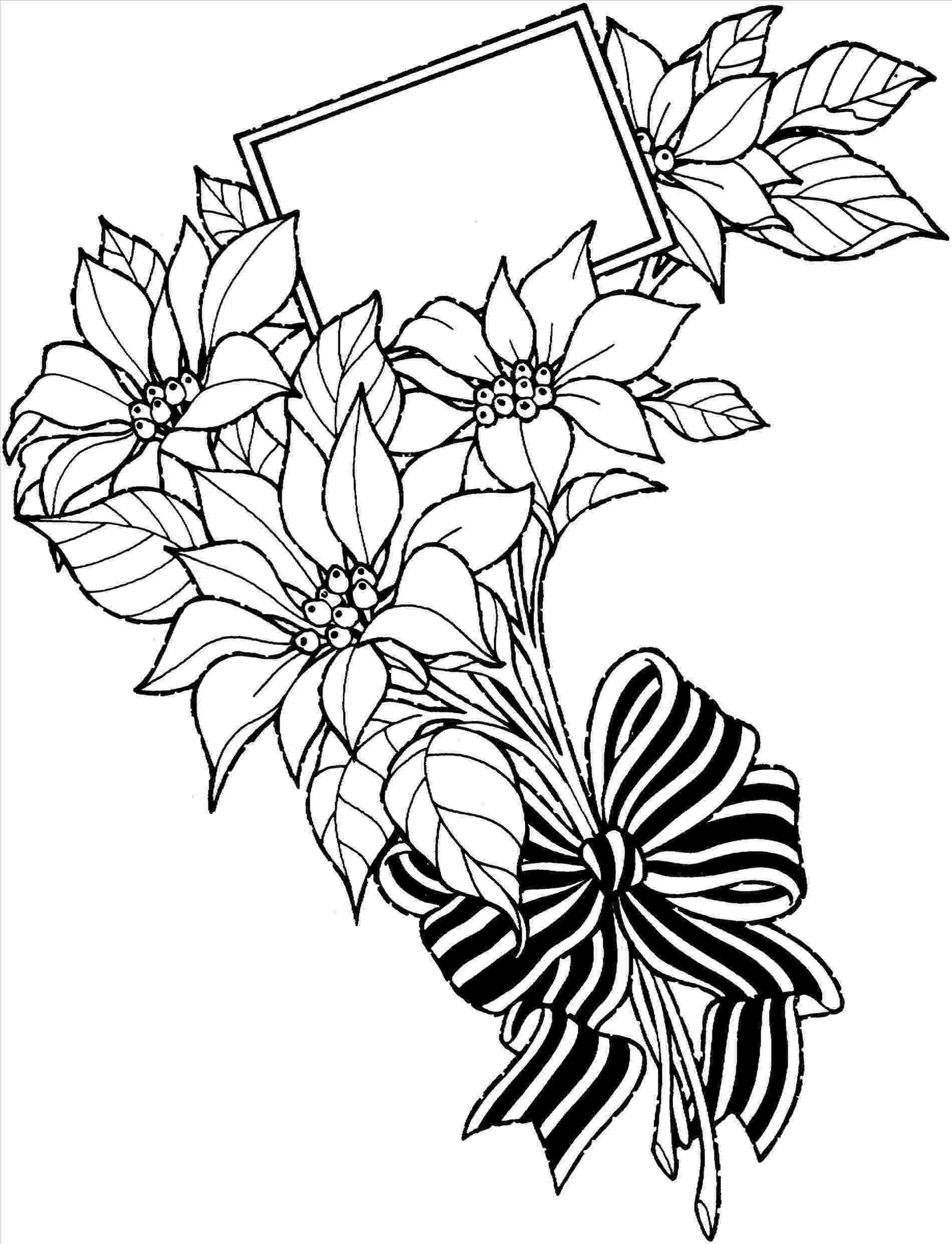 bunch of flowers colouring pages 43 best sketches of flowers in a vase images flower bunch pages colouring flowers of