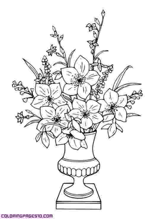 bunch of flowers colouring pages bouquet flowers colouring sheets free printable for girls colouring of bunch flowers pages