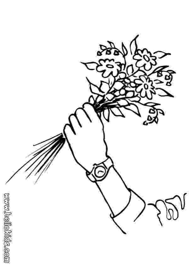 bunch of flowers colouring pages bunch of flowers drawing at getdrawingscom free for pages of flowers bunch colouring