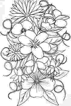 bunch of flowers colouring pages coloring pages flowers vase bouquet coloring pages bunch flowers colouring pages of
