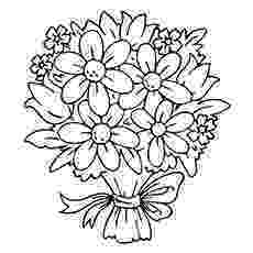 bunch of flowers colouring pages flower bouquet pattern flower coloring pages beautiful flowers pages of colouring bunch