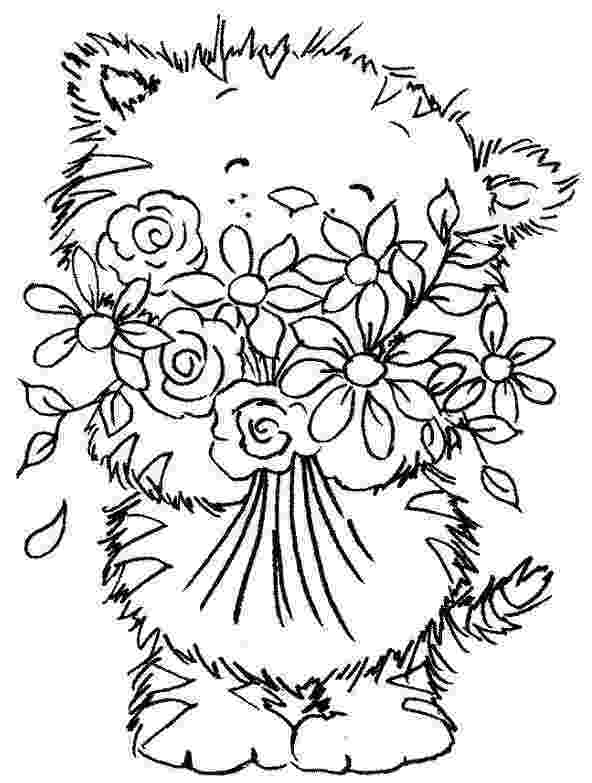 bunch of flowers colouring pages flower coloring pages free download on clipartmag of pages colouring flowers bunch