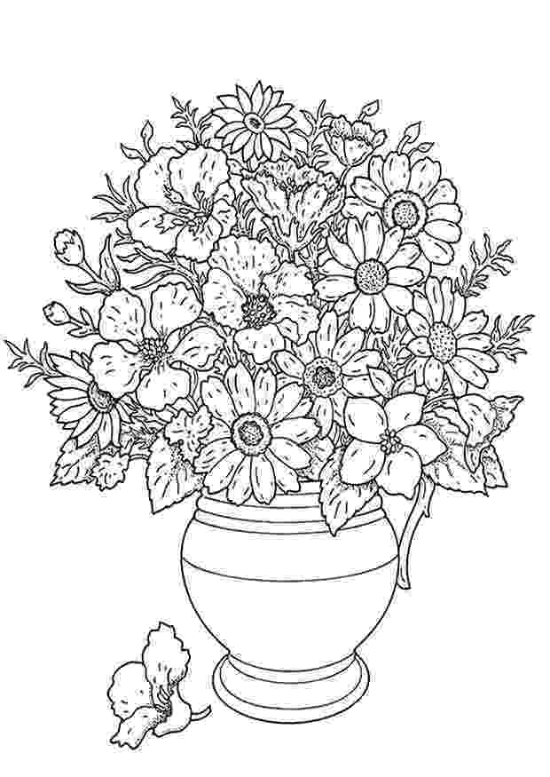 bunch of flowers colouring pages thomas big bunch of flowers rubber clear digi stamps colouring of pages bunch flowers