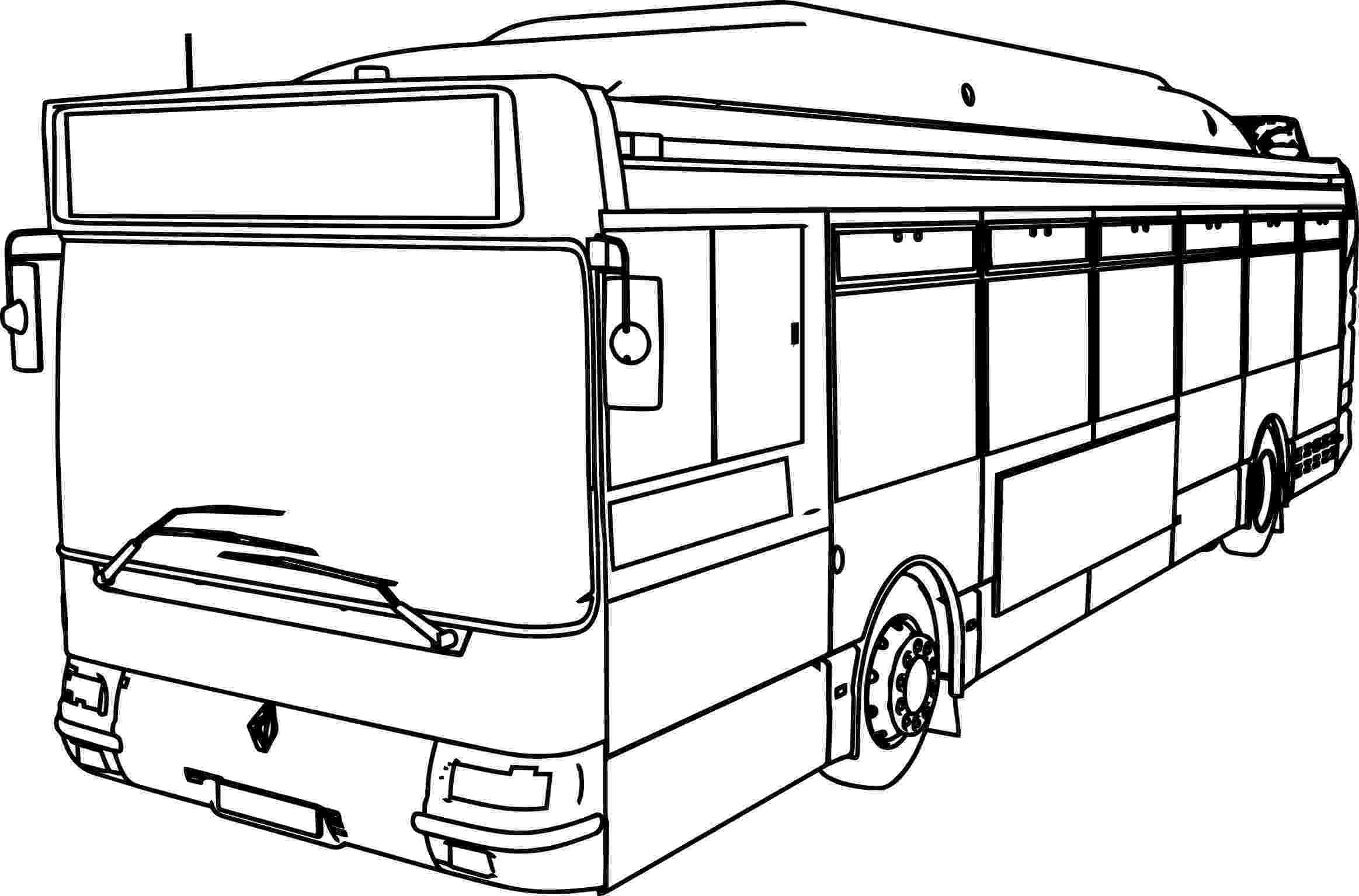 bus coloring pages bus line drawing at getdrawings free download pages bus coloring