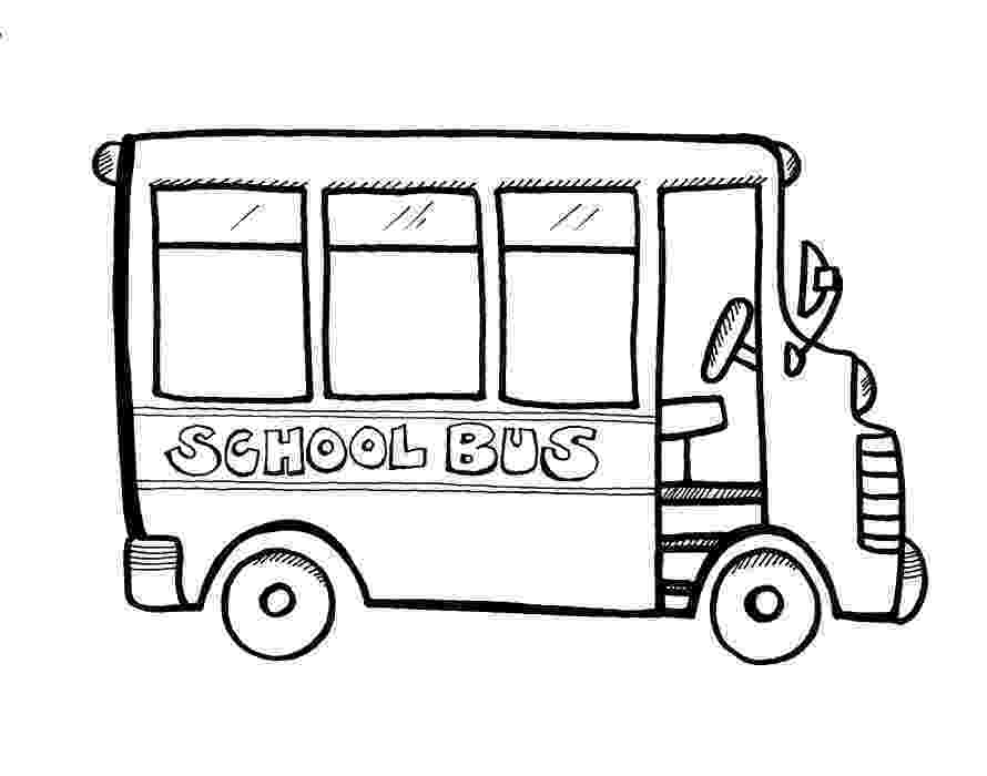bus coloring pages cartoon bus drawing at getdrawingscom free for personal coloring pages bus