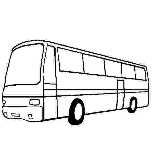bus coloring pages city bus netart bus coloring pages