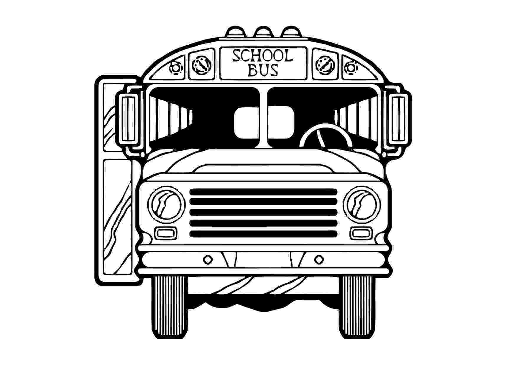 bus coloring pages printable school bus coloring page for kids cool2bkids coloring bus pages 1 1