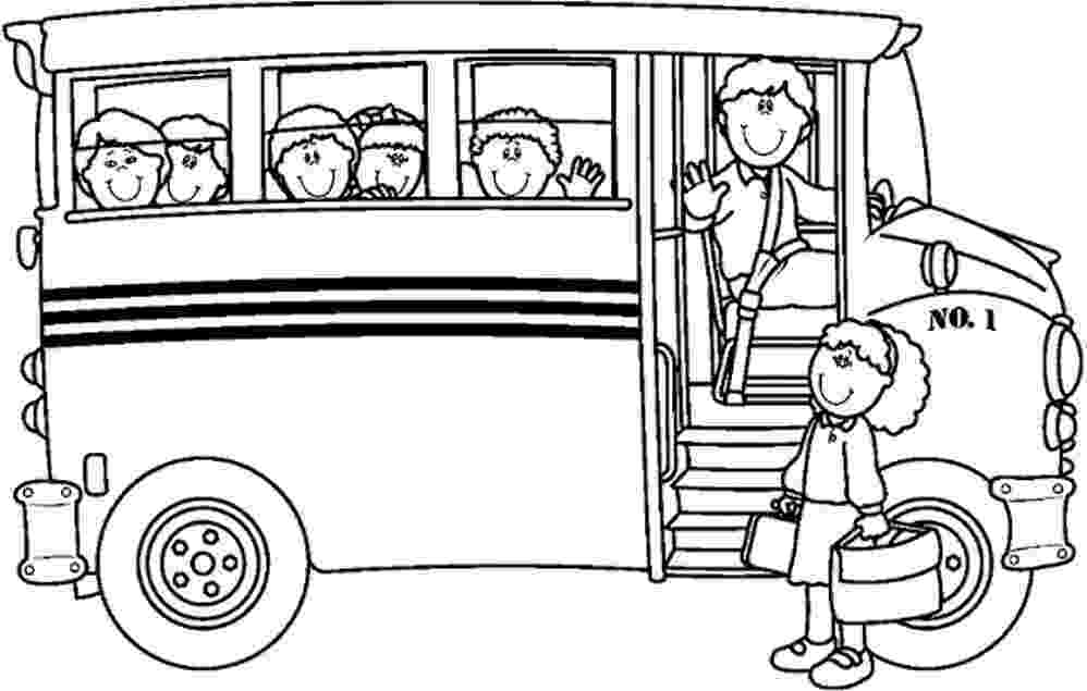 bus coloring pages school coloring sheets janice39s daycare coloring bus pages