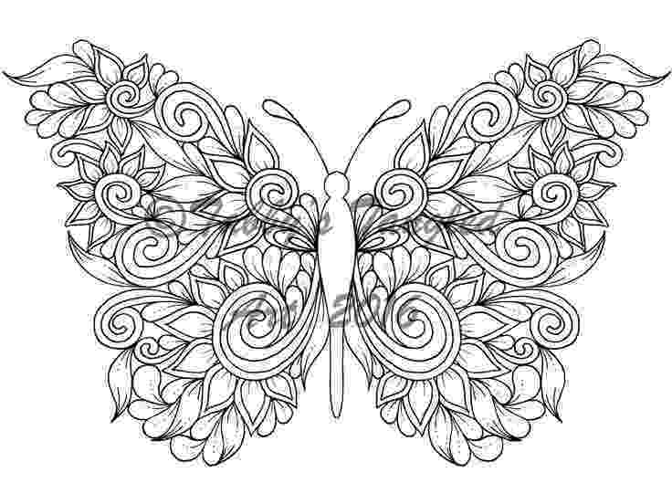 butterfly coloring pages for adults 87 best butterfly coloring pages images on pinterest butterfly pages adults coloring for