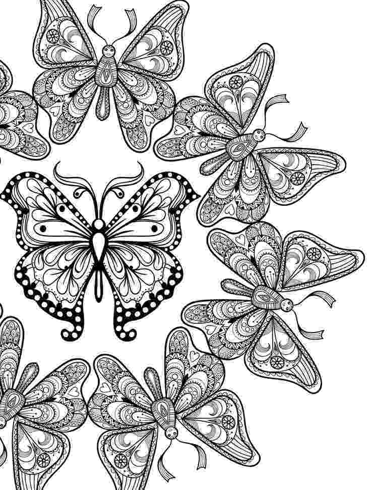 butterfly coloring pages for adults 87 best butterfly coloring pages images on pinterest pages butterfly for adults coloring