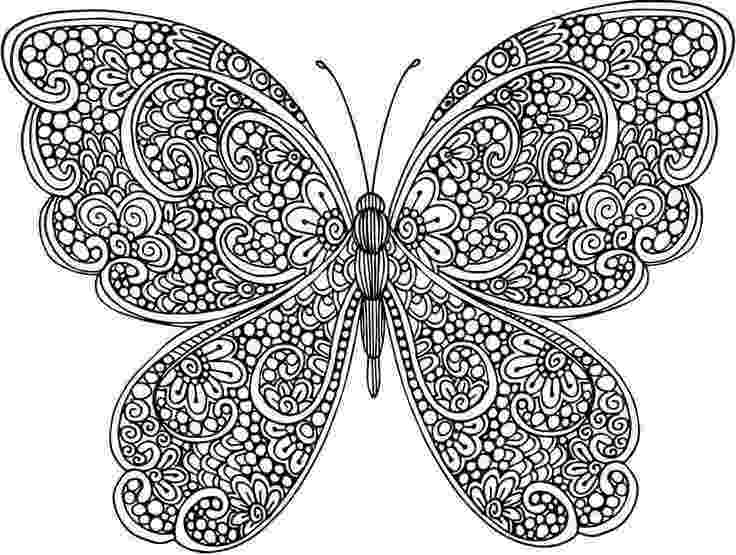 butterfly coloring pages for adults adult butterfly coloring book insect coloring pages butterfly coloring adults for pages