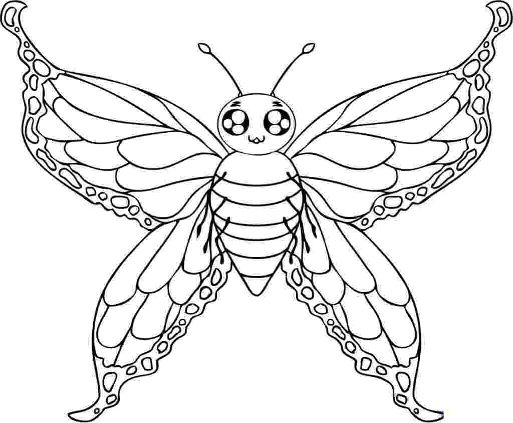 butterfly coloring pages free printable free printable butterfly coloring pages for kids free pages printable butterfly coloring