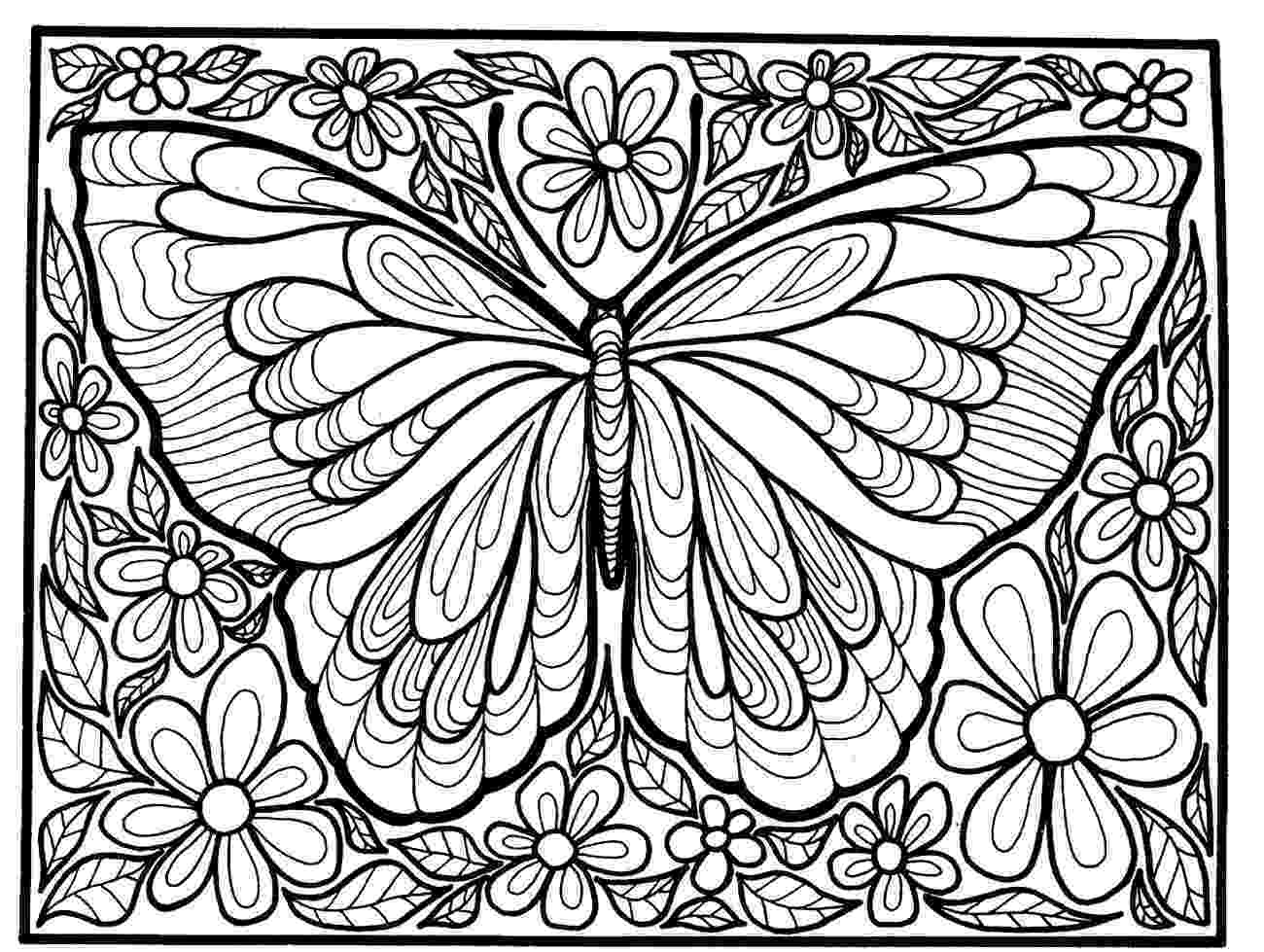 butterfly coloring pages free printable free printable butterfly coloring pages for kids pages free coloring butterfly printable