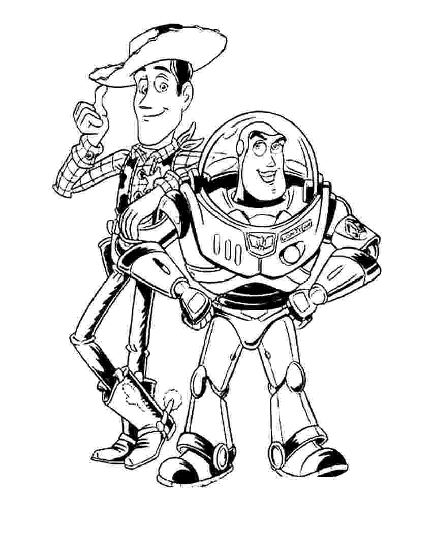 buzz and woody coloring pages buzz and zurg coloring pages download and print for free buzz woody and pages coloring