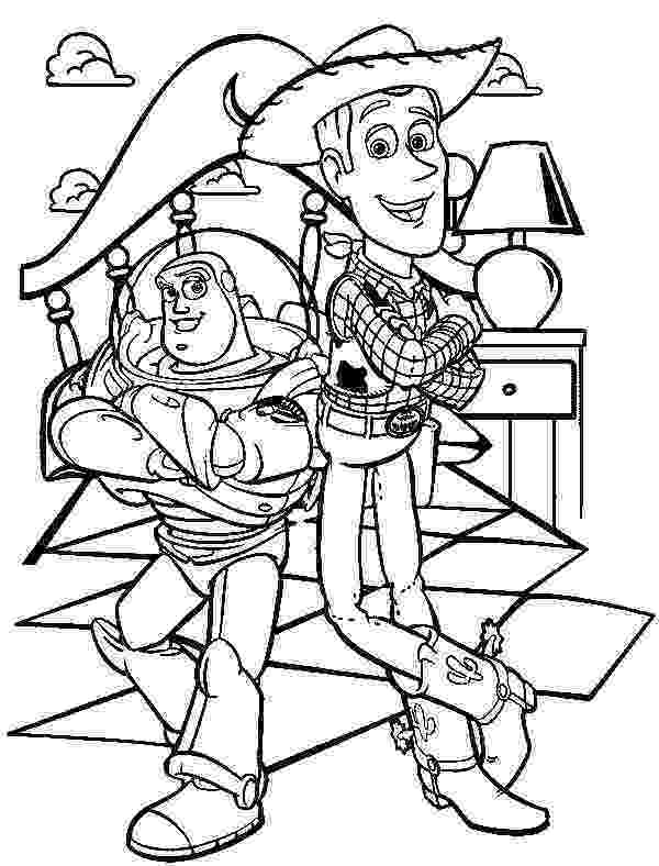 buzz and woody coloring pages buzz lightyear and sheriff woody toy story coloring pages coloring woody buzz and