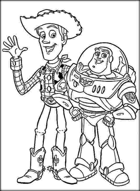 buzz and woody coloring pages disney toy story coloring pages buzz woody color zini buzz and pages coloring woody