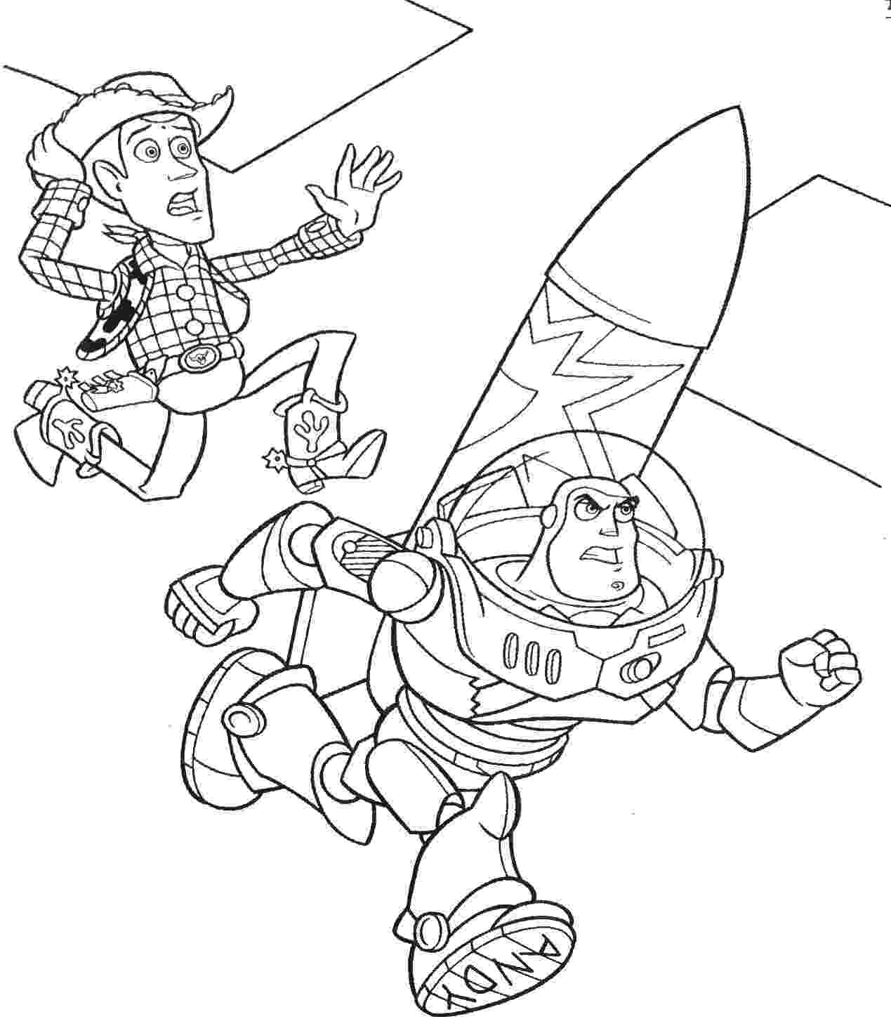 buzz and woody coloring pages toy story coloring pages buzz and woody at getdrawingscom pages coloring and buzz woody