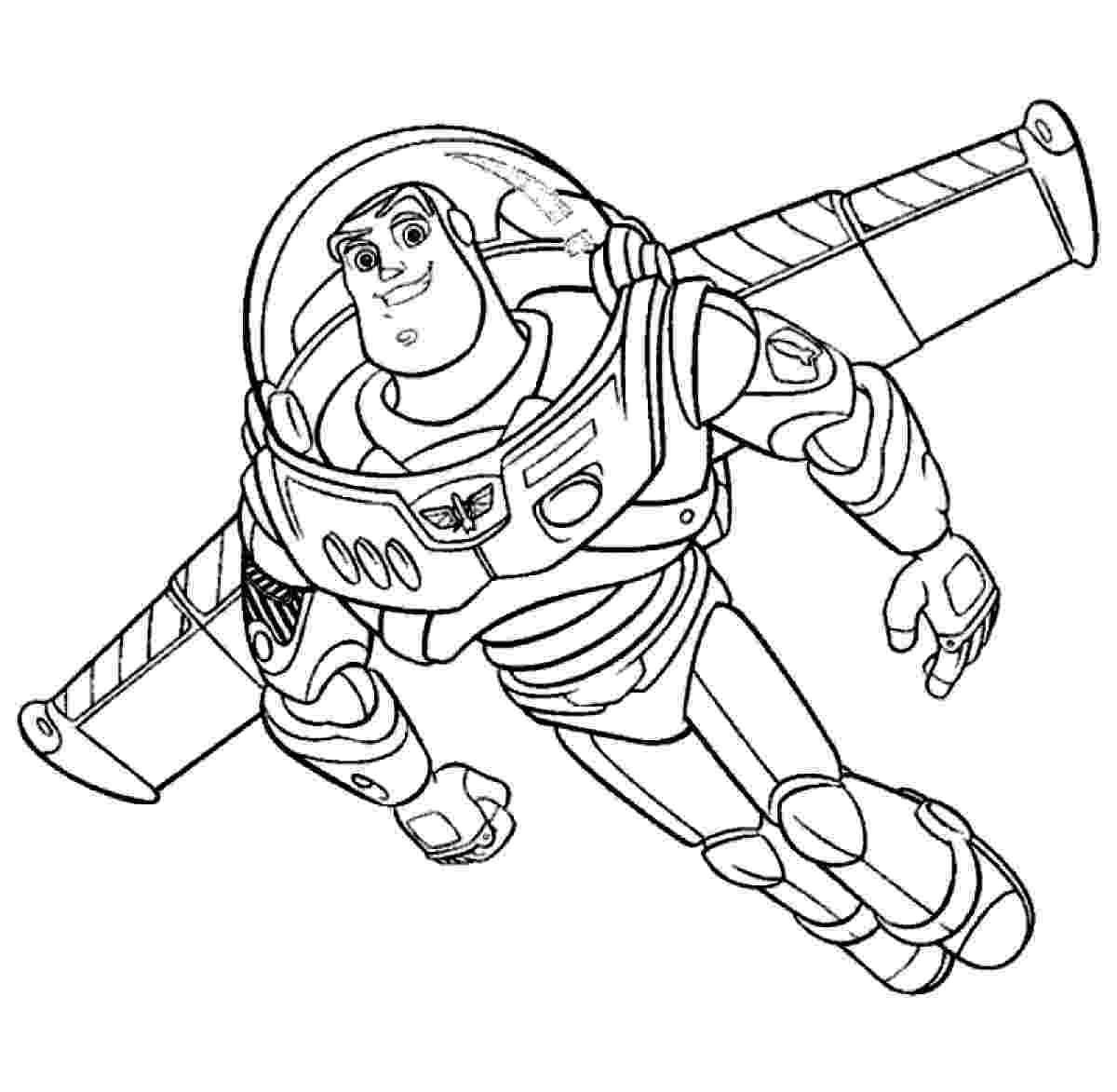 buzz lightyear printable coloring pages buzz lightyear coloring pages getcoloringpagescom buzz coloring lightyear printable pages